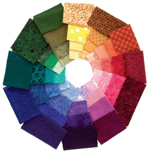 Fabric-color-wheel
